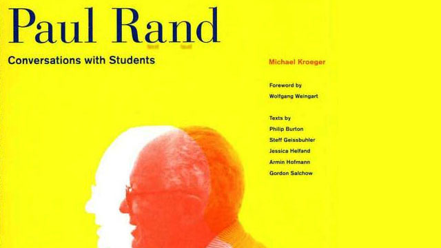 Paul Rand Conversations With Students